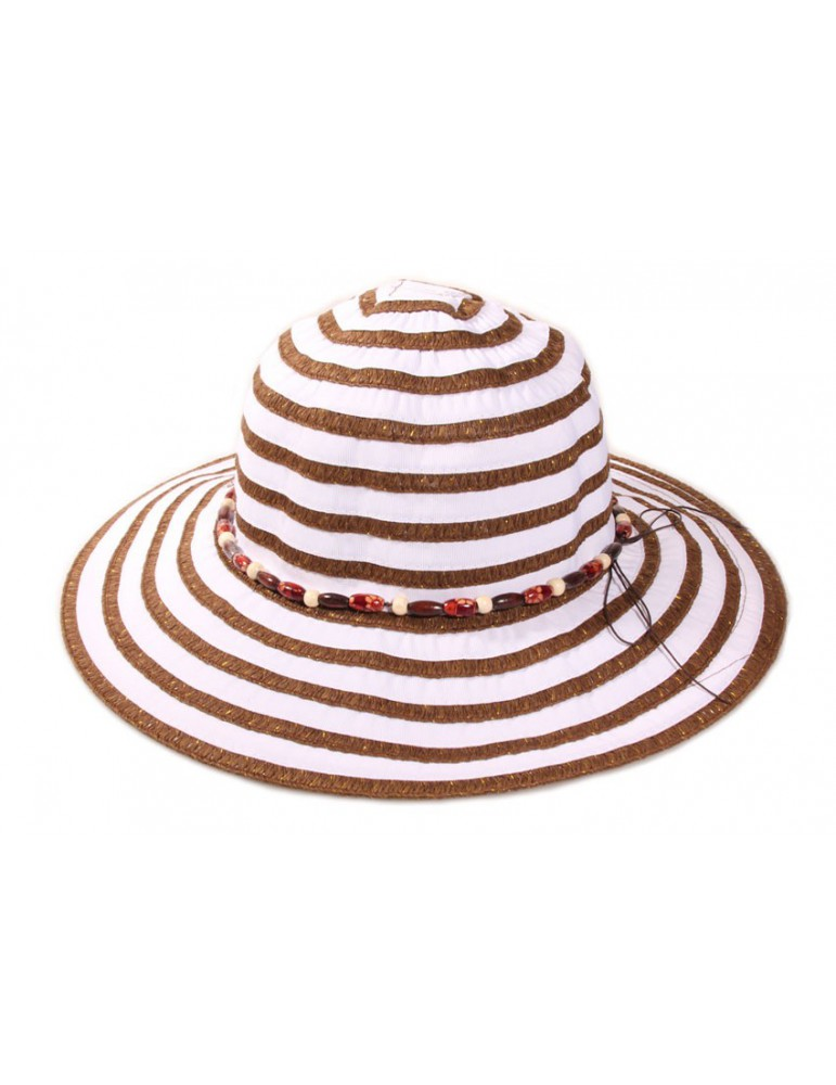 Chapeau Camille bicolore
