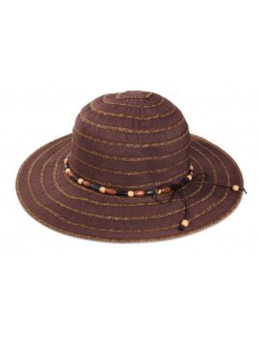 Chapeau Camille marron