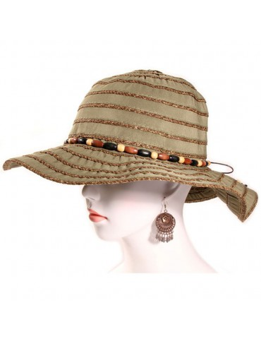 Chapeau Camille olive