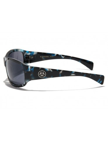 Lunette Biohazard Optics bleu
