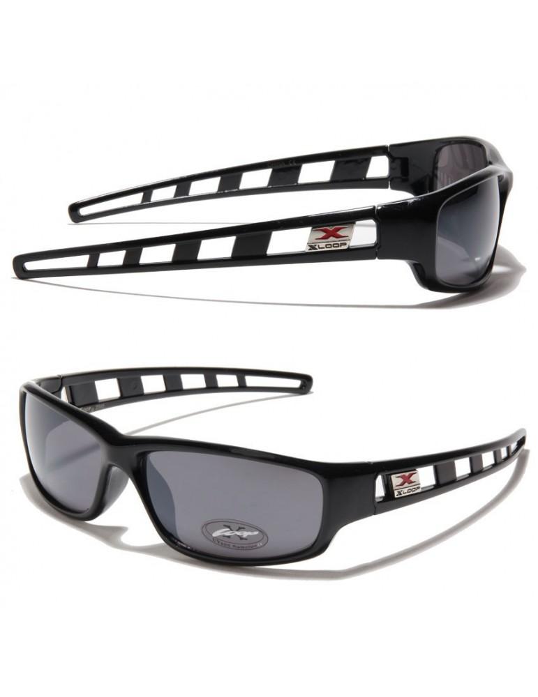 lunette de soleil plastique noir