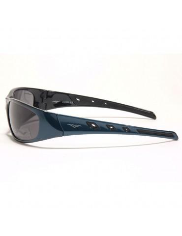 Lunette Vertex sunwear bleue