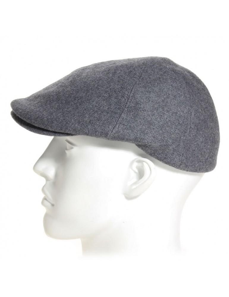 casquette bec de cane coloris gris
