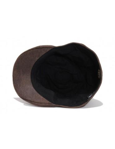 casquette bec de cane imitation cuir
