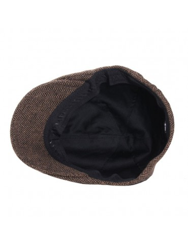 casquette bec de cane marron