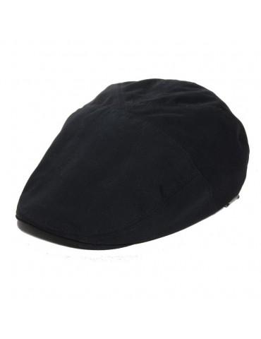 casquette plate d'été coloris noir