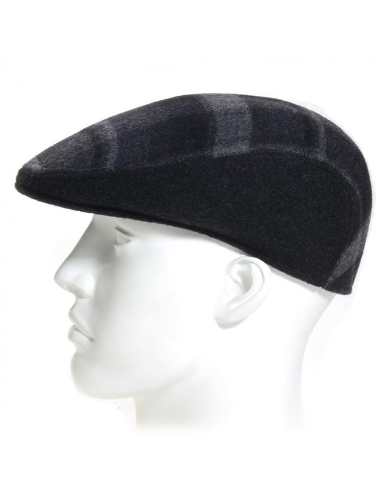 casquette laine formée coloris grise
