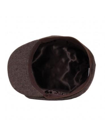 casquette parisienne coloris marron