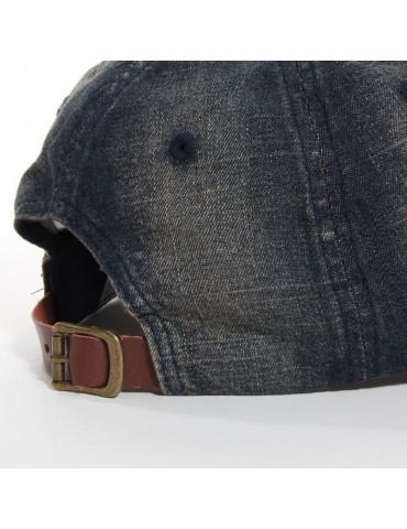 casquette baseball jeans délavé