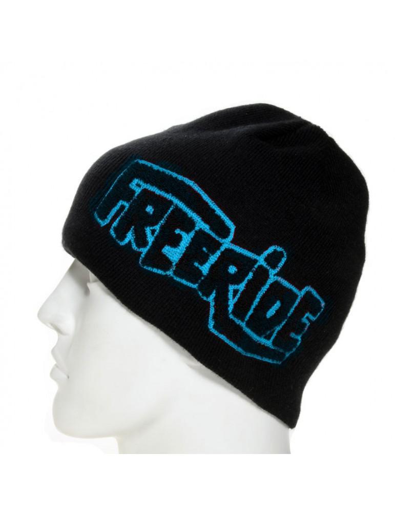 bonnet de ski floqué bleu