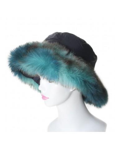 Chapeau Adeli turquoise...