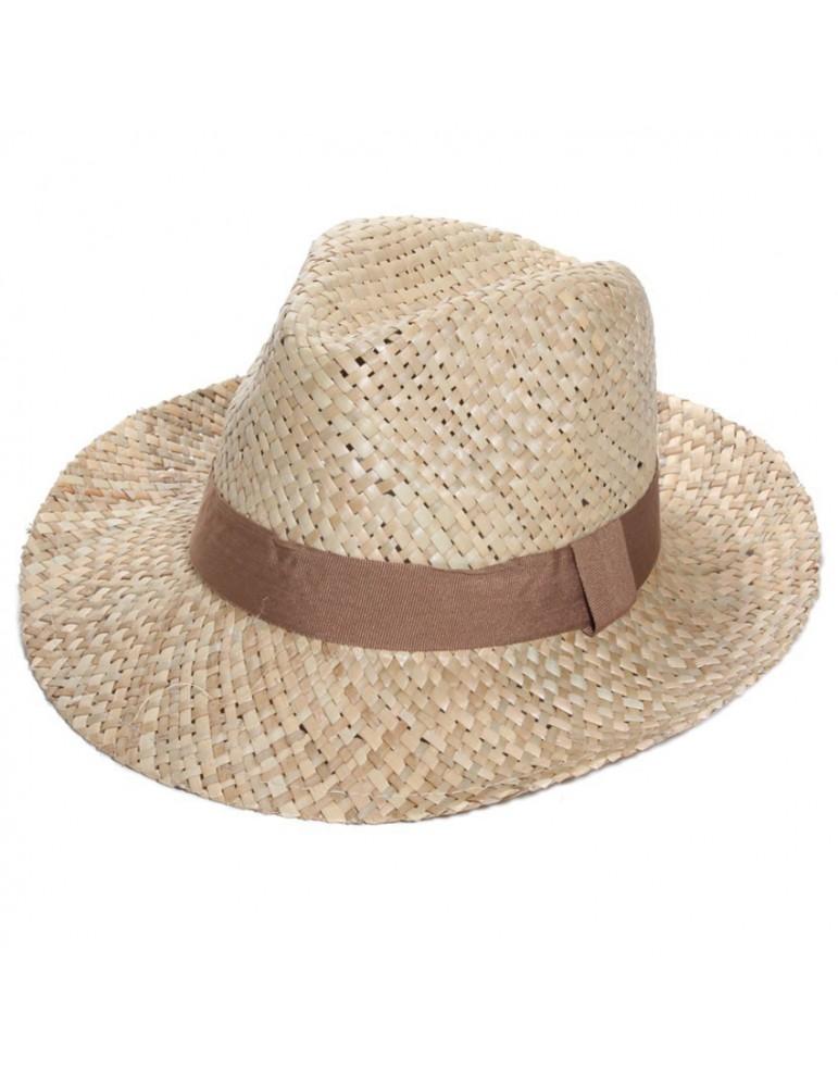 chapeau paille naturelle