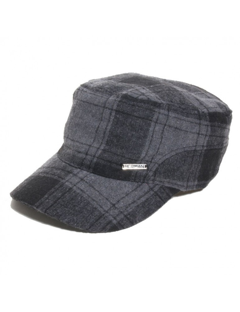 casquette style cubaine grise