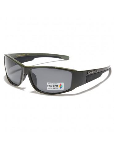 lunettes de soleil polarisante monture kaki et noir