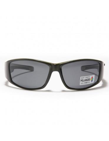 lunettes de soleil lentille polarisante monture kaki