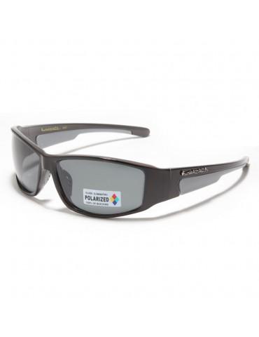 lunette de soleil polarisante monture grise