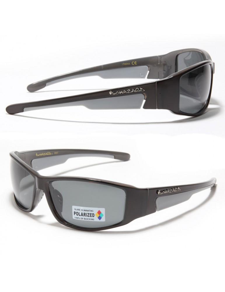 Soignez votre look avec ces lunettes de soleil Biohazard et sa monture  bicolore noir et grise ultra legère et résistante. Pour une meilleure tenue  les ... 0e0ec4955216