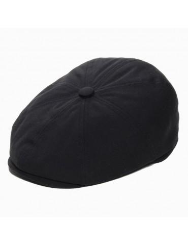 casquette gavroche imperméable noir