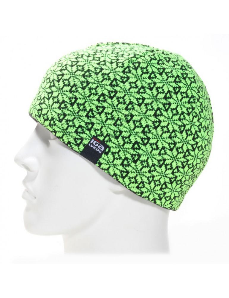 bonnet court vert anis