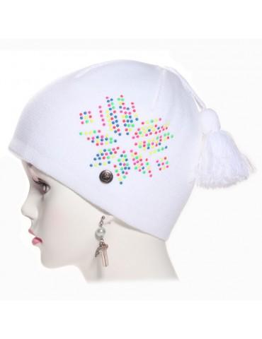 Bonnet Kalix blanc Igalykos