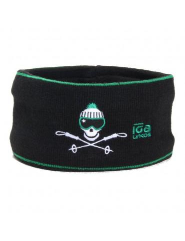 bandeau de ski vert et noir