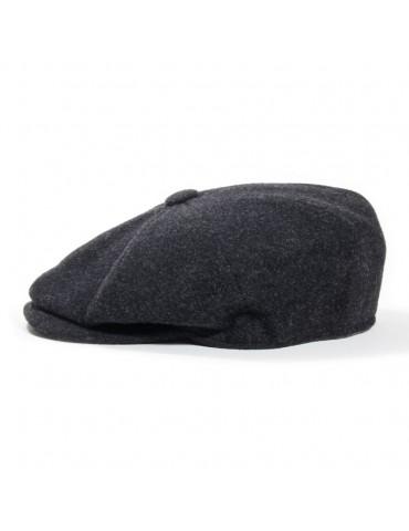 casquette laine et cachemire coloris gris