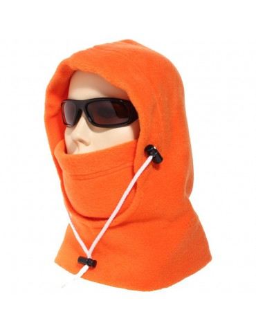 cagoule canadienne polaire coloris orange