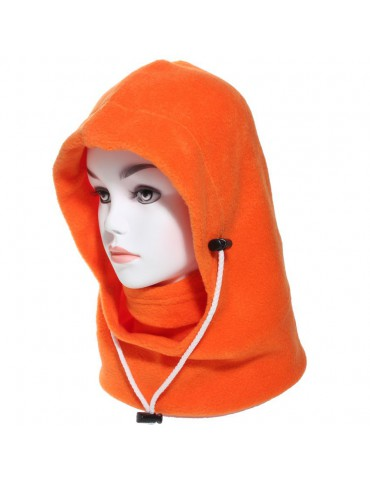 cagoule canadienne polaire orange
