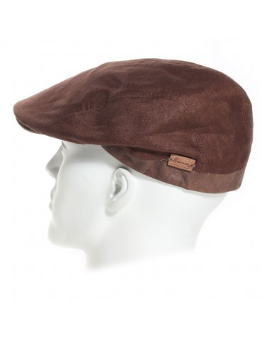Casquette Clement brown Herman