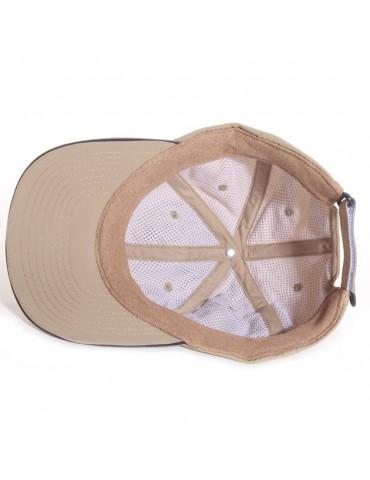 casquette baseball nylon suplex beige