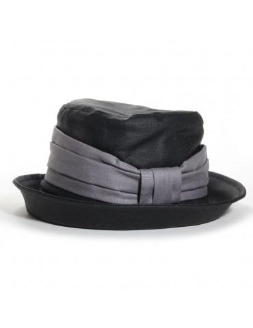 Chapeau Arzhela noir/gris...