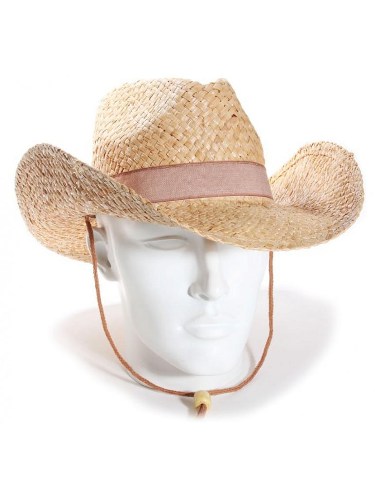chapeau paille cowboy