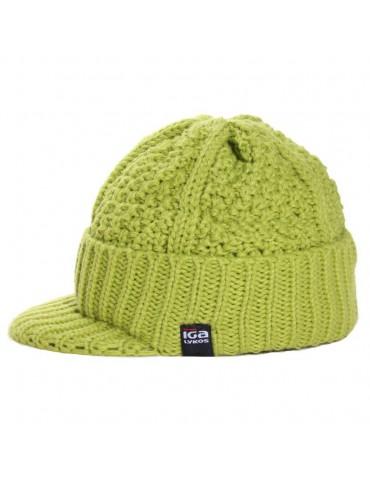 bonnet casquette maille laine