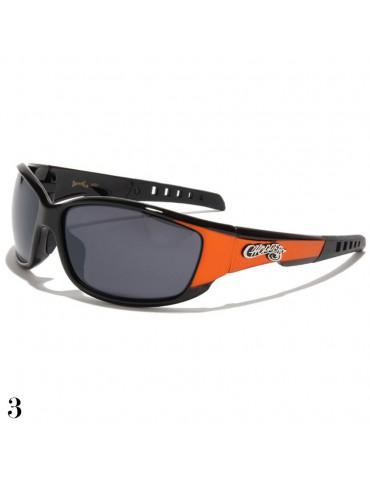 lunette de soleil sport et monture orange