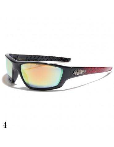 lunette de soleil monture rouge
