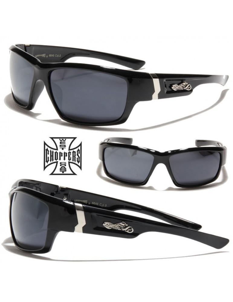 lunettes de soleil avec logo moto