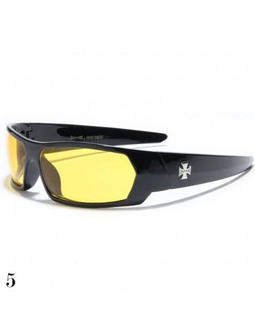 lunette de soleil vision jaune
