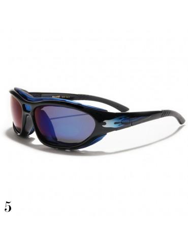 lunettes de soleil bleutée
