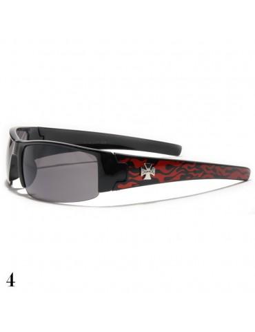 lunettes de soleil flamme rouge