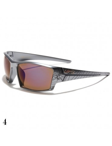 lunettes de soleil monture grise