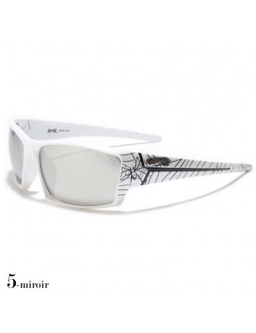lunettes de soleil monture blanche