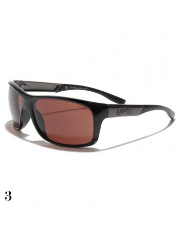 lunettes de soleil vision marron
