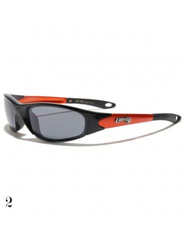 lunettes de soleil monture orange