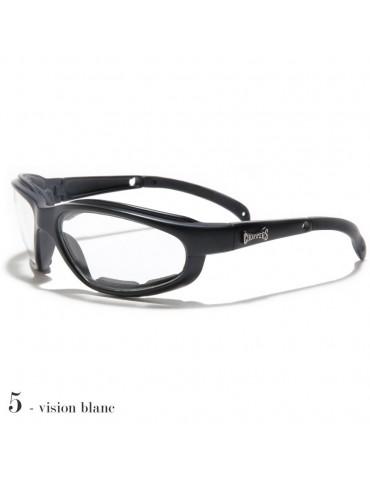 lunettes de soleil vision blanche