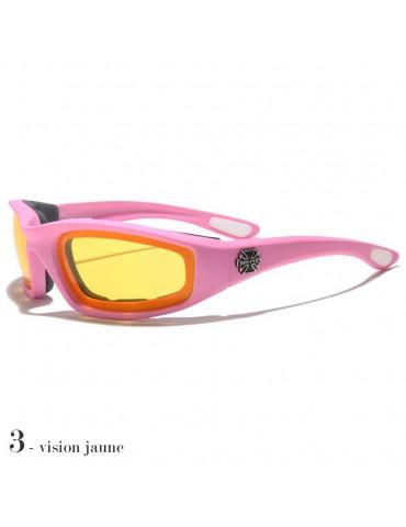 lunettes de soleil vision jaune