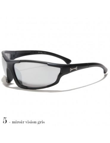 lunettes de soleil vision grise