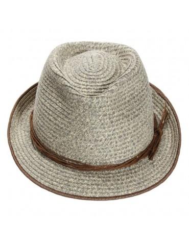 chapeau paille trilby