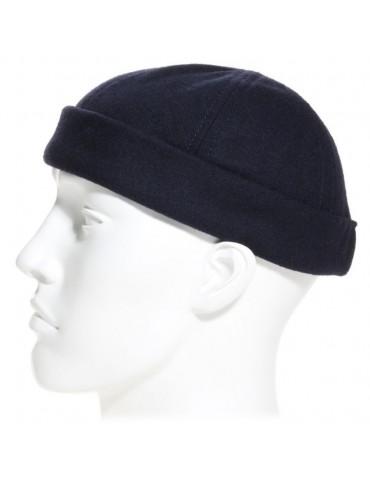 miki breton laine bleu marine