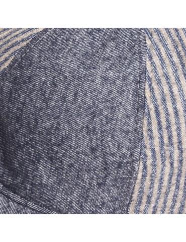 casquette mi saison coloris bleu jeans