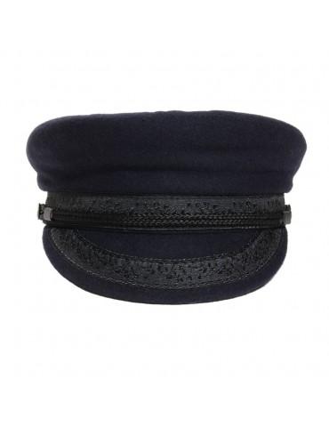 casquette marin bleu marine